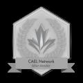 CAEL Network Badge Silver 120x120 1